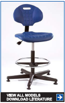 Industrial & Laboratory Seating